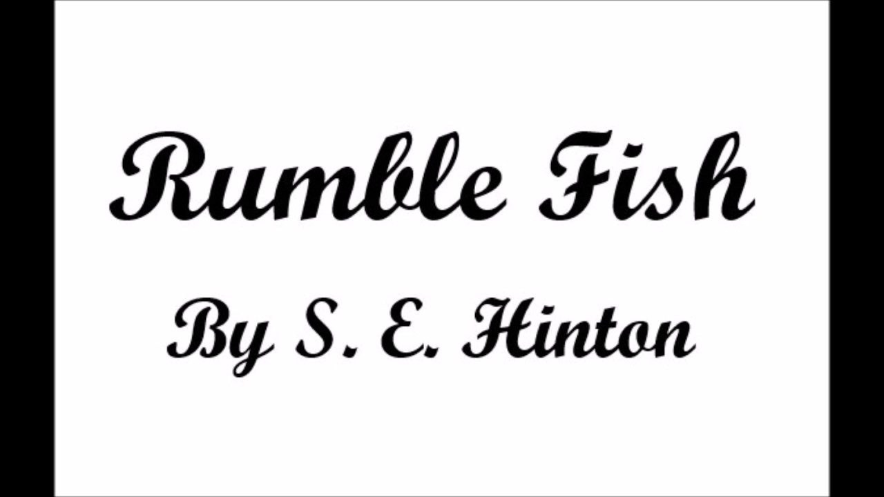 Rumble fish chapter 7 summary