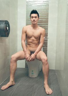 Asian guys naked hand stand