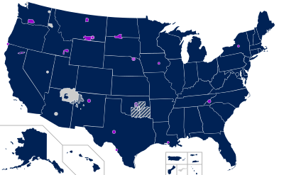 States with same sex marriage