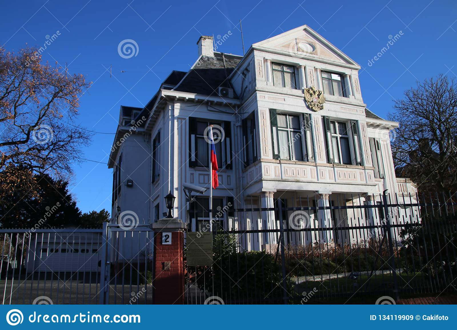 The hague russian embassy in